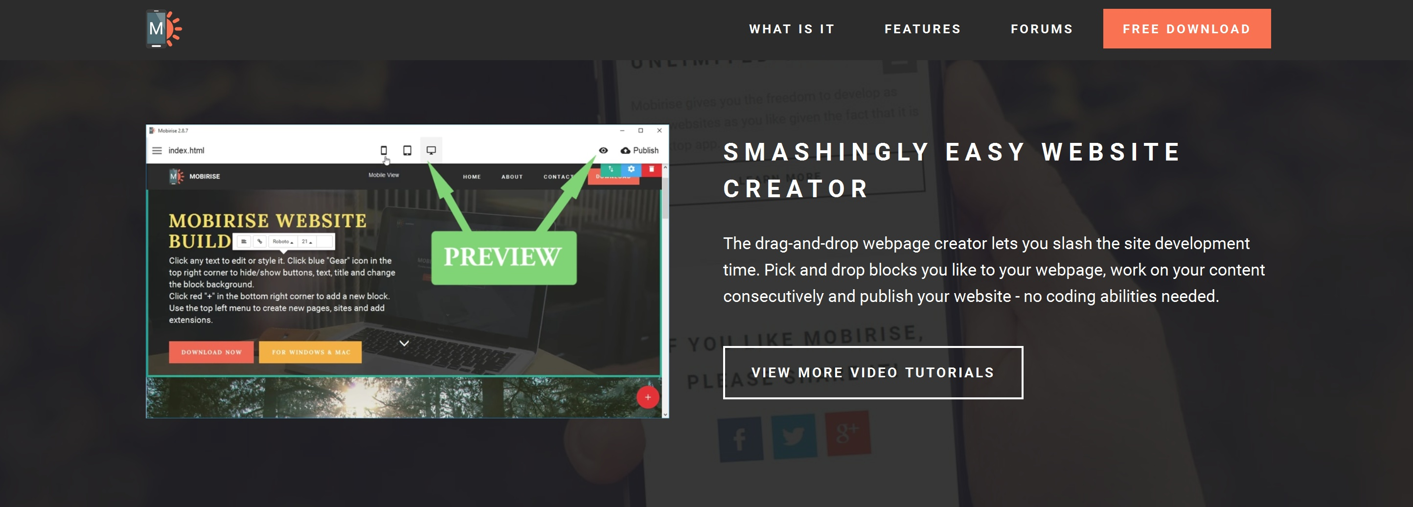 Offline Simple Website Builder Review