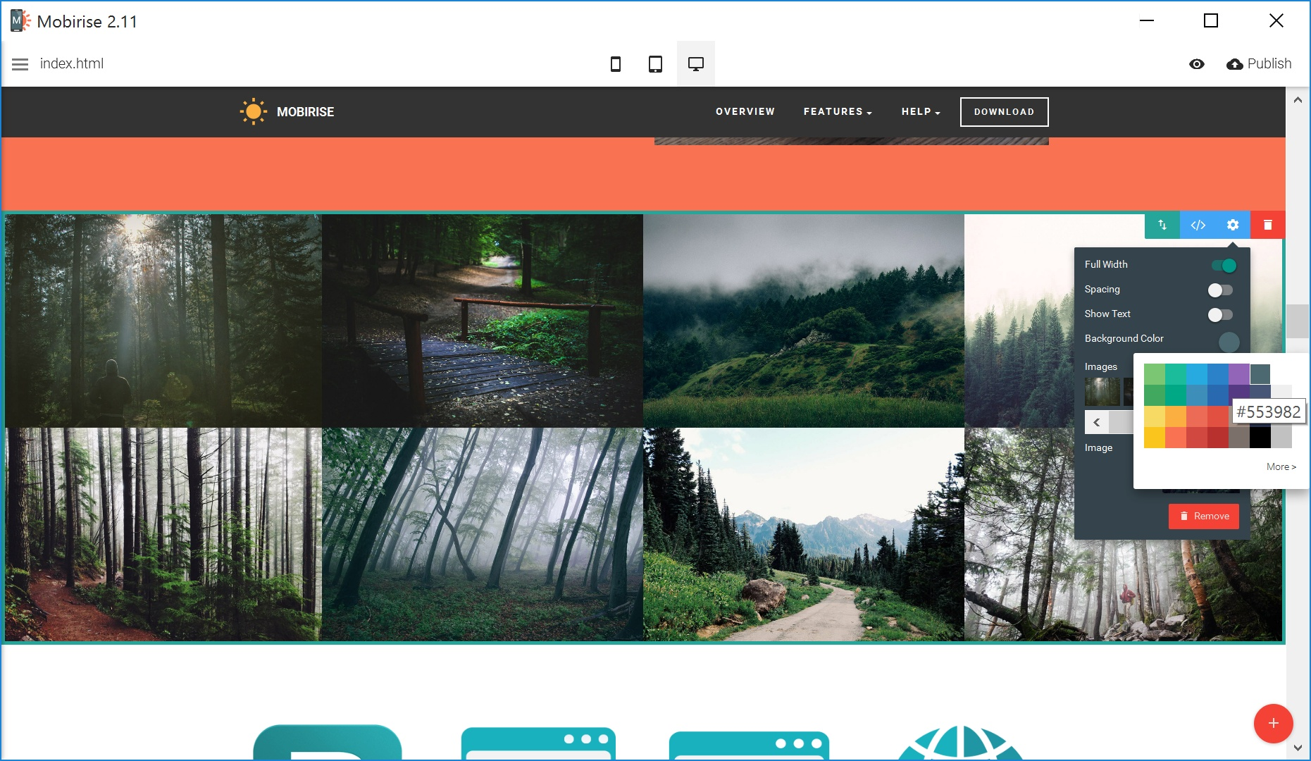 Free Responsive Web Page  Creator Review