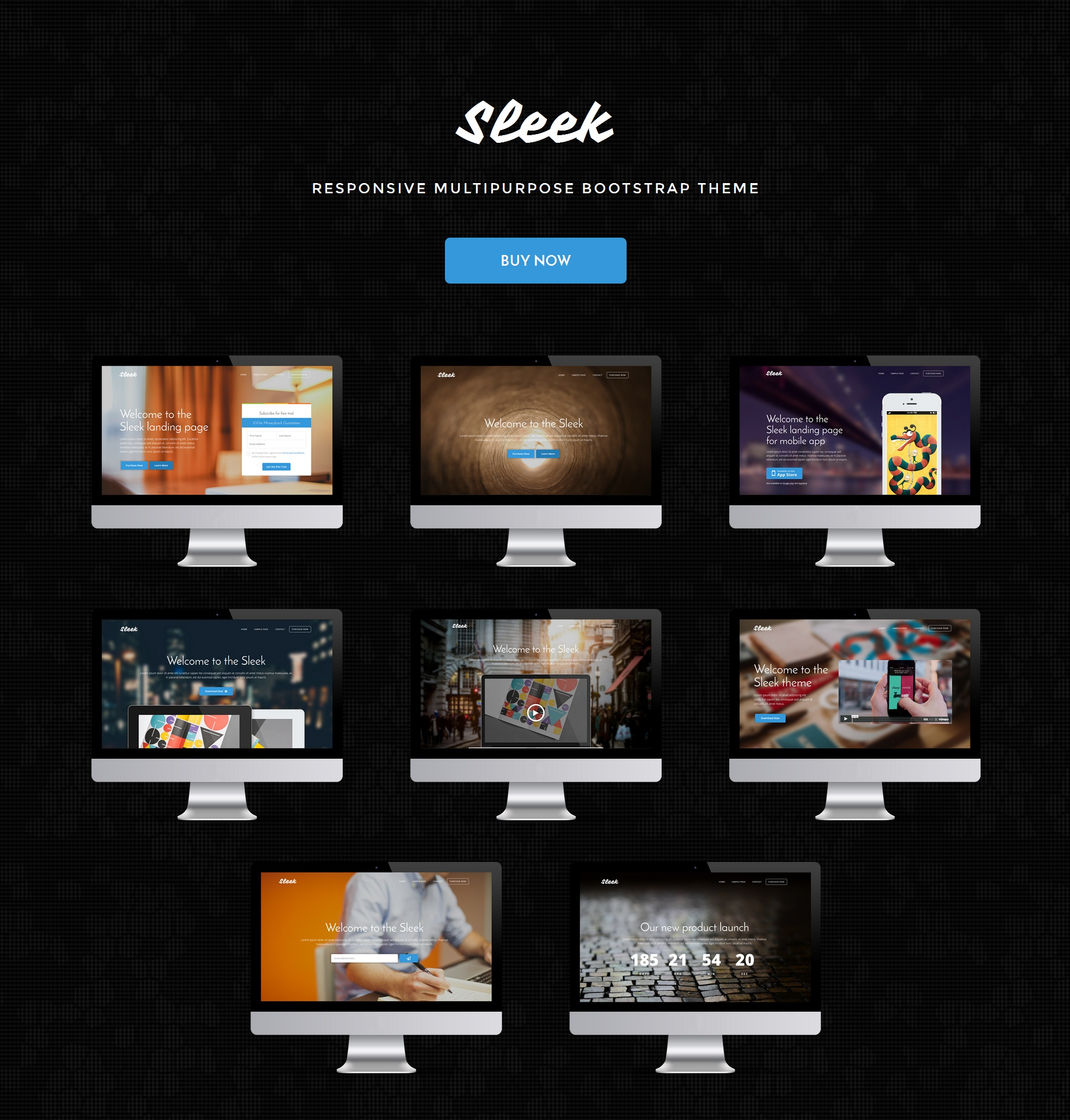 Responsive Bootstrap Travel Theme
