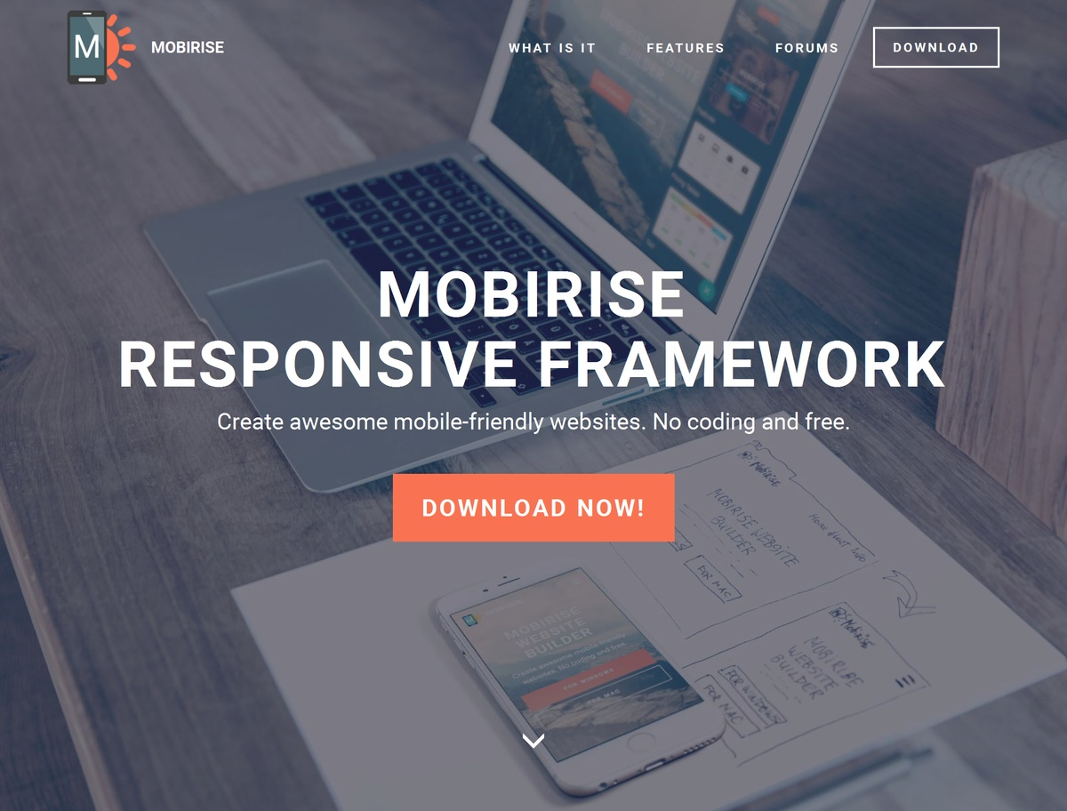 HTML5 Responsive Website Template