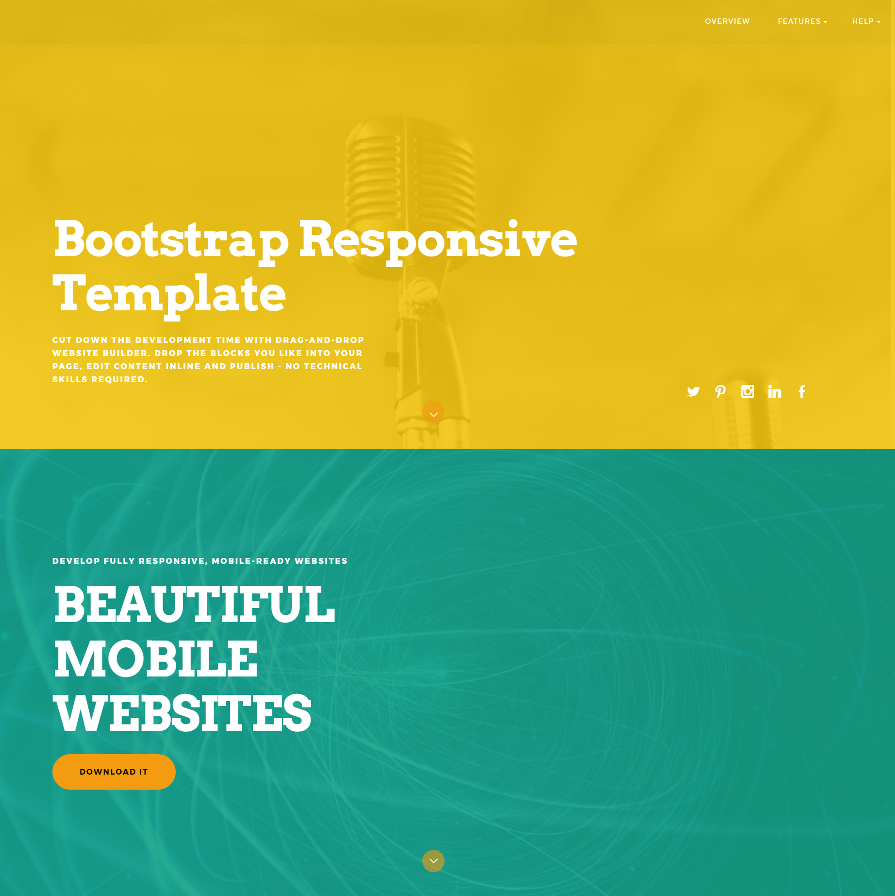 Responsive Bootstrap ColorM Themes